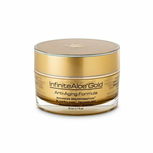 InfiniteAloe Gold Anti-Aging 1.7oz jar