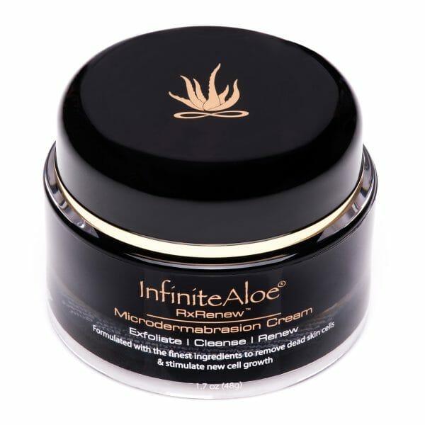 InfiniteAloe RxRenew Microdermabrasion Cream