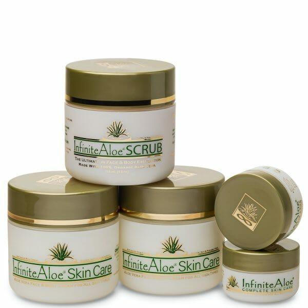 InfiniteAloe Skin Care & Scrub Mini Gift Set