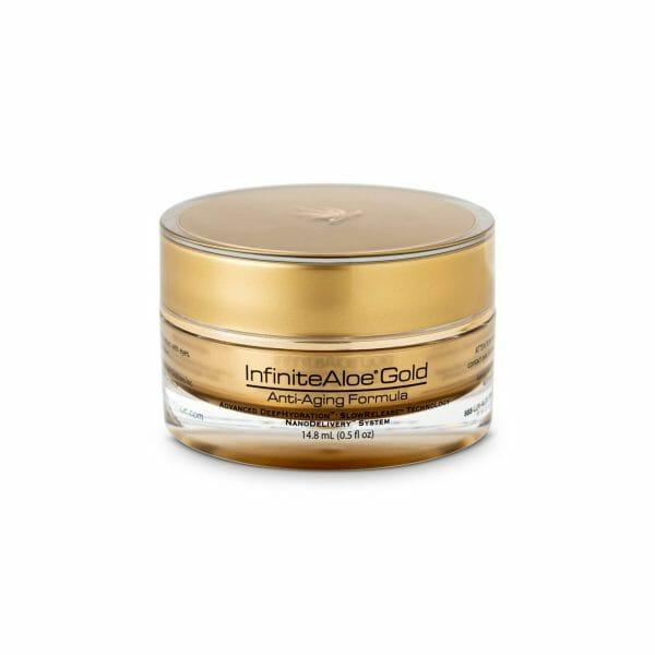 InfiniteAloe Gold Anti-Aging .5oz jar
