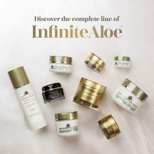 Complete line of InfiniteAloe
