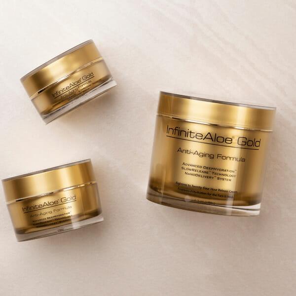 InfiniteAloe Gold Anti-Aging (3 sizes)