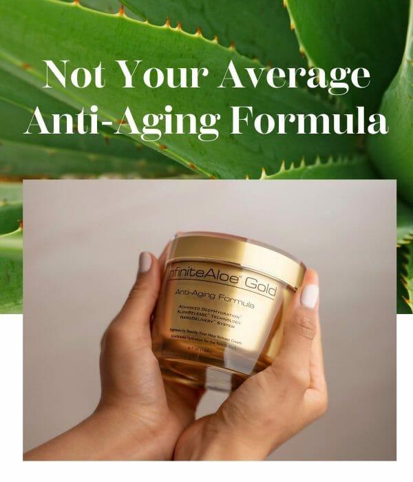 Not your average anti-aging formula